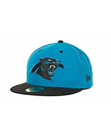Carolina Panthers 2 Tone 59FIFTY Fitted Cap