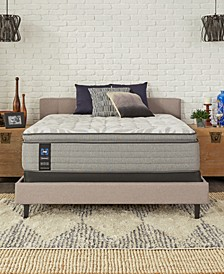"Posturepedic Silver Pine 15"" Medium Euro Top Mattress- Twin"