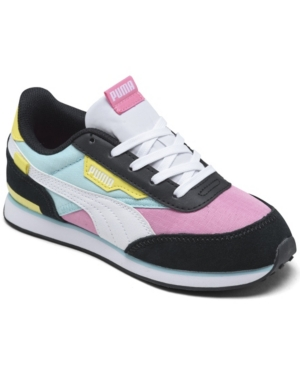 PUMA LITTLE GIRLS FUTURE RIDER PLAY ON CASUAL SNEAKERS FROM FINISH LINE