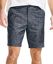 """Men's Classic-Fit 8.5"""" Chambray Shorts"""