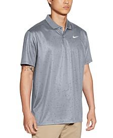 Men's Victory Dri-FIT Triangle-Print Golf Polo Shirt