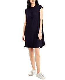 Mandarin-Collar Dress