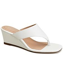 Step 'N Flex Andersonn Thong Wedge Sandals, Created for Macy's
