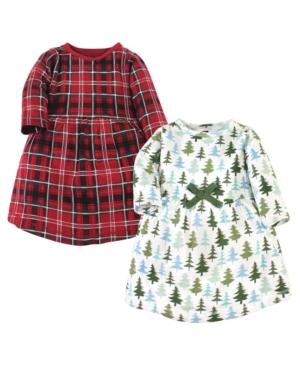 Hudson Baby TODDLER GIRLS COTTON DRESSES, 2 PACK