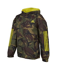 Big Boys Print Camo Wind Jacket