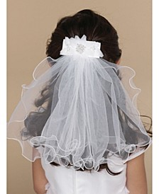 Pearl Clip with Veil