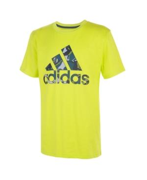 Adidas Originals Tops BIG BOYS ACTION CAMO BOS T-SHIRT