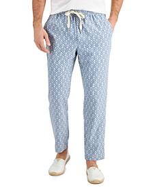 Men's Medallion Print Drawstring Pants, Created for Macy's