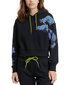 Evide Graphic-Print Hooded Sweatshirt
