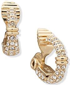 Pavé Clip-On Earrings