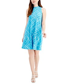 Gwen Printed Jersey A-Line Dress
