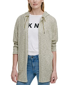 Open-Front Hooded Jacket