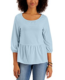 Clip Dot Top, Created for Macy's