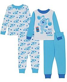 Blues Clues Toddler Boy 4 Piece Pajama Set