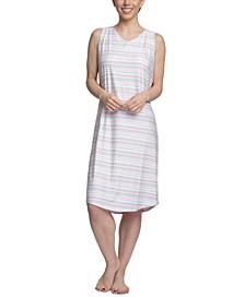 Dream Knit Printed Sleep Shirt Nightgown