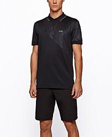 BOSS Men's Paddy Gold Regular-Fit Polo Shirt