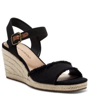 Lucky Brand Sandals WOMEN'S MOLIEY ESPADRILLE WEDGE SANDALS WOMEN'S SHOES