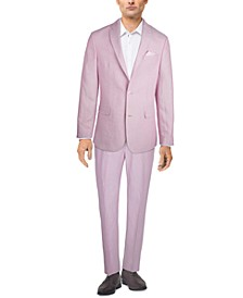 Men's Slim-Fit Pink Suit Separates, Created for Macy's