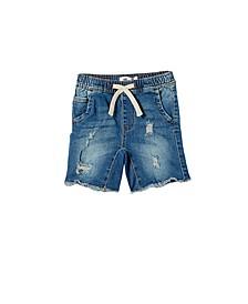 Little Boys Street Slouch Shorts