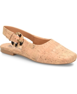 Women's Blush Comfort Slingback Flat Women's Shoes