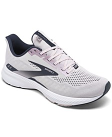 Women's Launch 8 Wide Width Running Sneakers from Finish Line