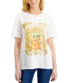 Juniors' Baby Yoda Graphic T-Shirt