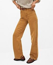 Women's Wide Leg High Waist Jeans