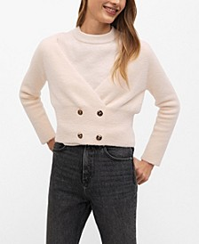 Women's Button Knit Cardigan