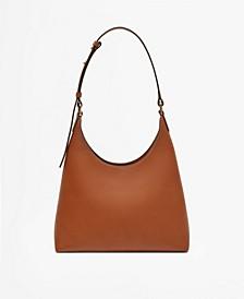 Women's Multi-Position Leather Shoulder Bag