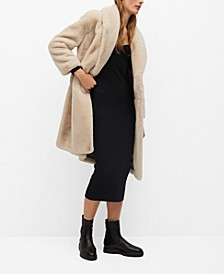 Women's Fluffy Long Coat