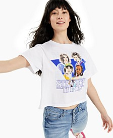 Juniors' Cotton Stranger Things T-Shirt