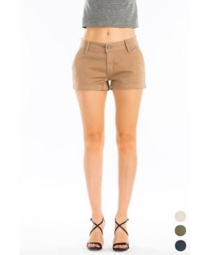 Women's Mid Rise Chino Shorts