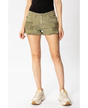 Women's Mid Rise Boyfriend Shorts