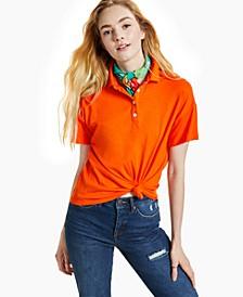 Petite Polo Shirt, Created for Macy's