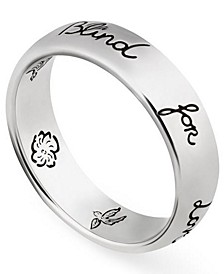 Blind For Love Ring in Sterling Silver