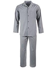 Men's Triple Window Check Pajama Set, Created for Macy's