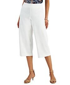 Wide-Leg Capri Pants, Created for Macy's