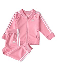 Little Girls Classic Tricot Track Set, 2 Piece