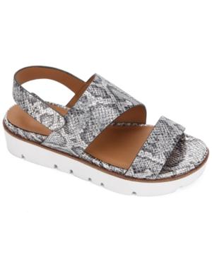 by Kenneth Cole Women's Lavern Asymmetrical Slingback Sandals Women's Shoes