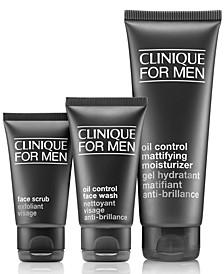 3-Pc. Clinique For Men Daily Oil Control Set