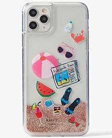 Pool Party Liquid Glitter iPhone 11 Pro Max Case