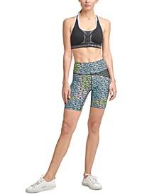 Printed Bike Shorts