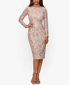 Sequin & Lace Dress