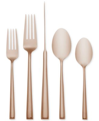 Malmo Rose Gold 5-Piece Place Setting