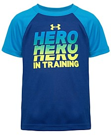 Toddler Boys Hero-in-Training Short Sleeve T-Shirt
