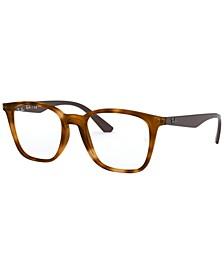 RX7177 Unisex Square Eyeglasses