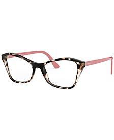 PR 11XV Women's Butterfly Eyeglasses