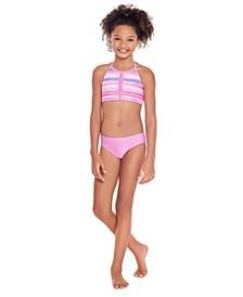 Big Girls Halter Bikini Set, 2 Piece