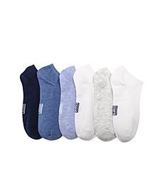 Women's Heathered Solid Low-Cut Socks