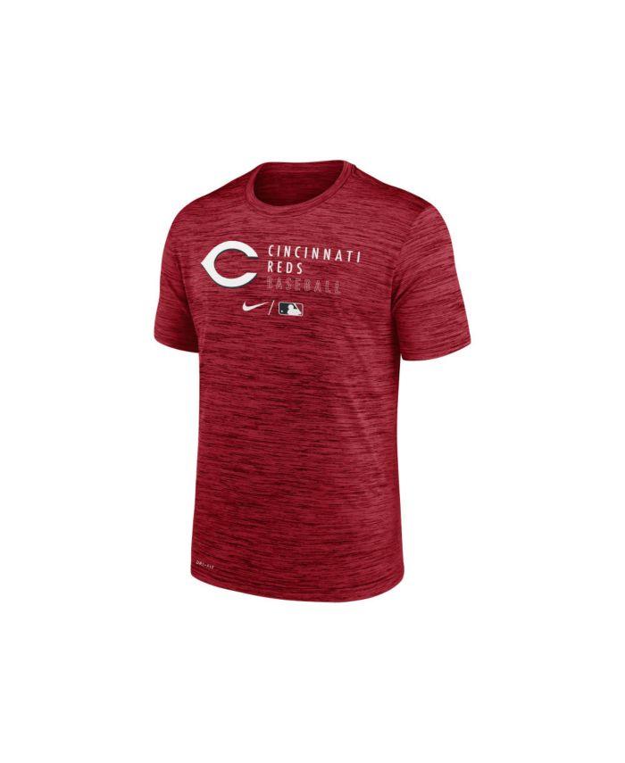 Nike Men's Cincinnati Reds Velocity Practice T-Shirt & Reviews - MLB - Sports Fan Shop - Macy's